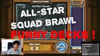 Disguised Toast All-Star Squad Brawl. Funny Decks