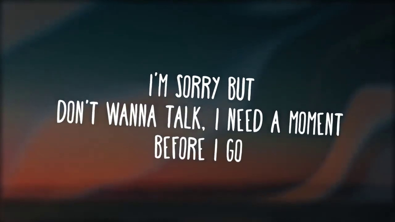 On my way-alan walker (lyrics)video - YouTube