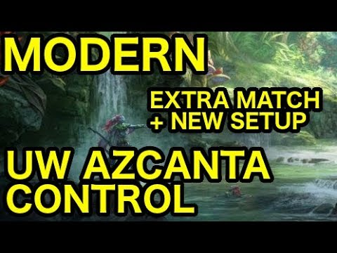 [MODERN] UW Azcanta Control vs. UW Azcanta Control (Extra Match + New Set-Up)