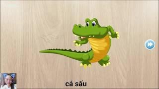 game ghép hình cho trẻ em, tìm hiểu tên động vật/384 Puzzles for Kids \game kids6