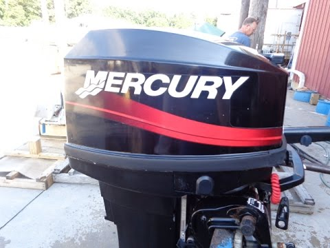 6m4817 used 2001 mercury 25ml 25hp 2 stroke tiller for 2 2 mercury outboard motor