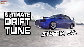 Syberia SWI / Subaru WRX STI ULTIMATE Drift Setup (CarX Drift Racing Online Tuning Guide)