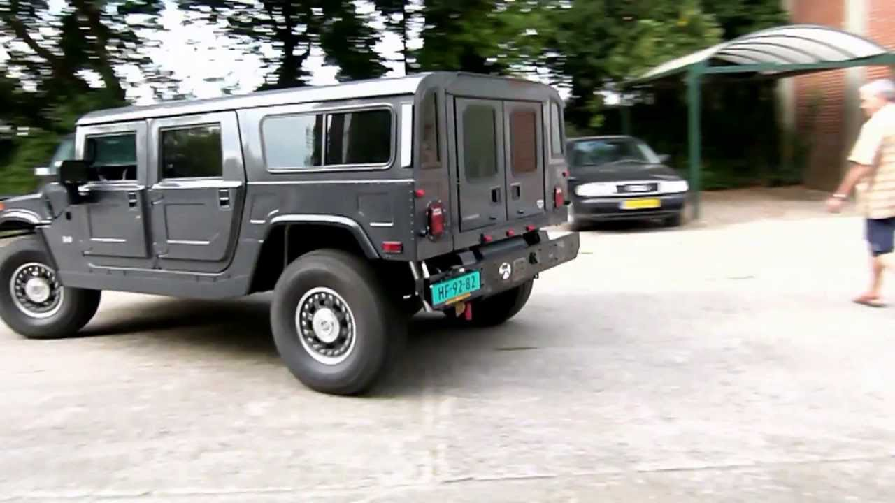 hummer h1 v8 detriot diesel met maatwerk rvs. Black Bedroom Furniture Sets. Home Design Ideas