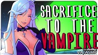 [ASMR] Sacrifice to The Vampire [Lady] [Mistress] [Voice Acting] [Italian Accent]