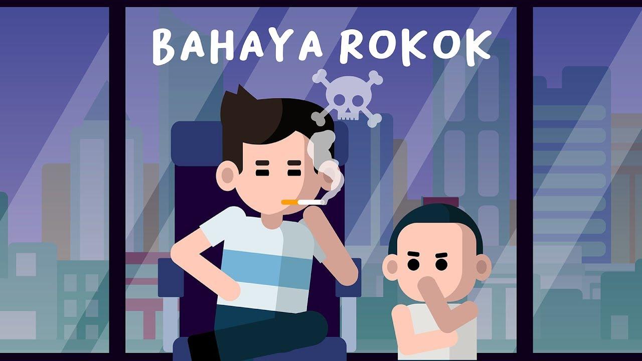 Bahaya Merokok Gambar Animasi Kenapa Merokok Berbahaya Youtube
