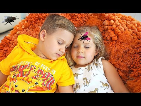 Roma and Diana vs Pesky Flies! Аnd other Funny Stories by Kids Diana Show