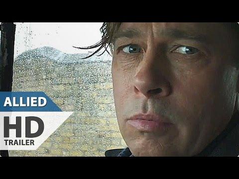 ALLIED Teaser Trailer (2016) Brad Pitt, Marion Cottilard Movie