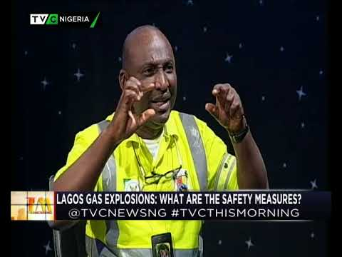 17th Jan| TVC This Morning| Lagos gas explosion