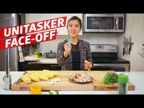 Can Any of These Four Unitasking Gadgets Outperform a Chef? — The Kitchen Gadget Test Show - YouTube