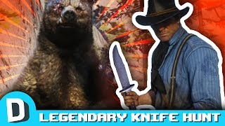 Hunting Legendary Animals With KNIVES in RDR2