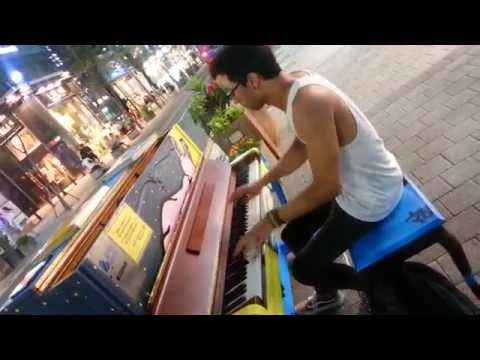 Piano Street Interstellar and Pirates Of the Caribbean