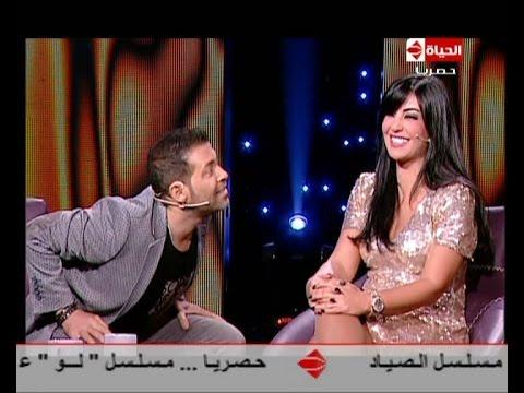 سهرة خاصة مع رزان # مشاجرة بين نجوم مصر للجلوس بجوار الجميلة اللبنانية راغدة شلهوب