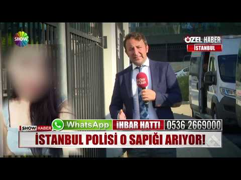 İstanbul Polisi O Sapığı Arıyor!