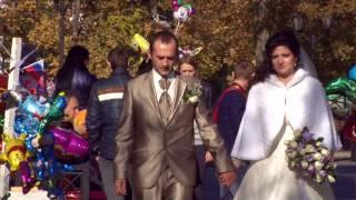 Сергей и Оксана  Свадьба в Таганроге. Видеооператор для видеосъемки свадьбы - 89298214909
