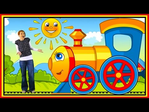 MAKE MARIA HAPPY! - Smarty Train Railway Ride! - Learn about BIG & small