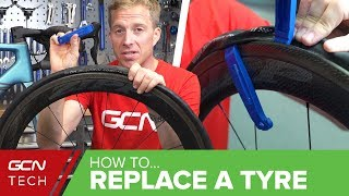 How To Change A Tyre On Your Road Bike