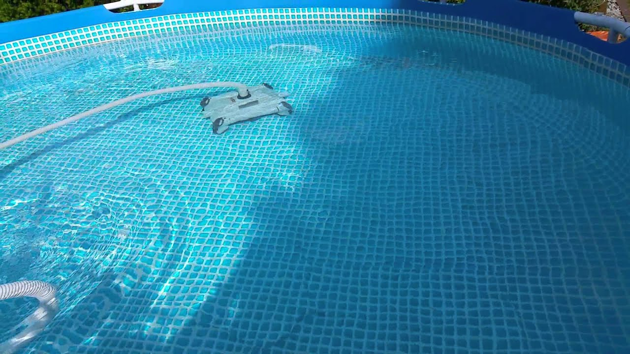 Pool Bodensauger Whaly Intex Poolreiniger Auto