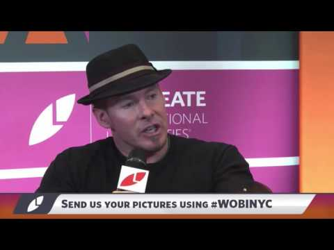 Erik Wahl at the World Business Forum 2016