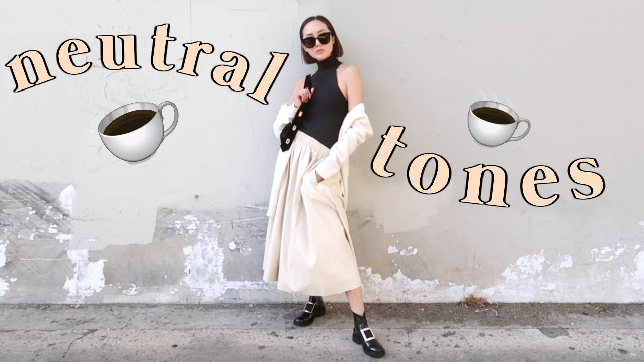 [VIDEO] - Neutral and Minimal Fall Lookbook + Sunglasses Haul 7