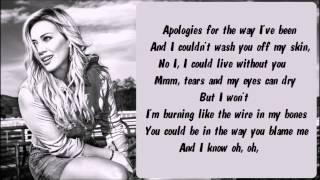 Hilary Duff - Tattoo Karaoke / Instrumental with lyrics on screen