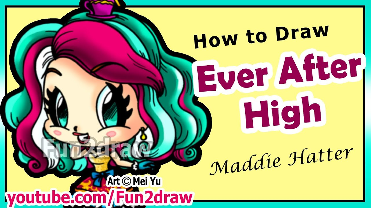 How To Draw Ever After High
