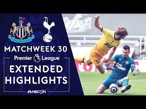 Newcastle v. Tottenham | PREMIER LEAGUE HIGHLIGHTS | 4/4/2021 | NBC Sports