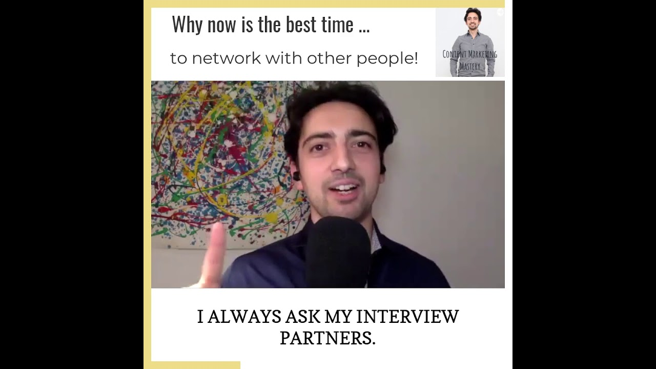 🌐 🌐 Why now is the best time to network with other people! 🌐 🌐