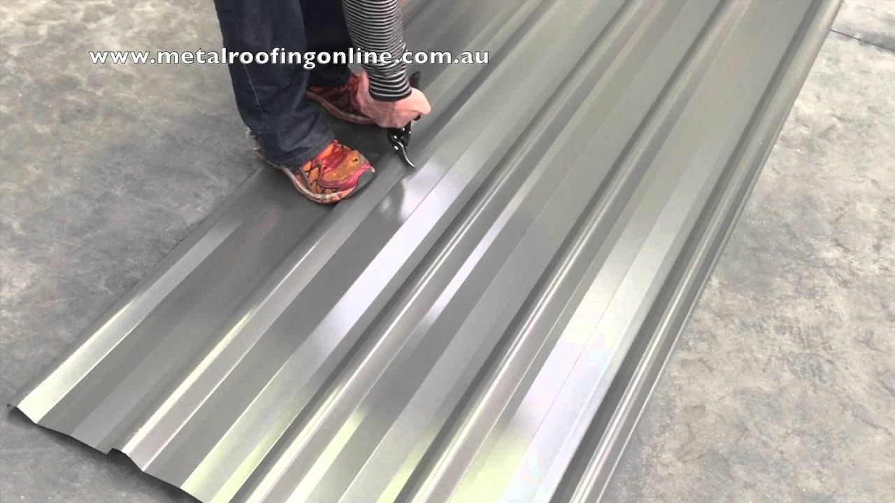 Ground Sheet Bunnings How To Cut A Trimdek Roof Sheet Metal Roofing Online