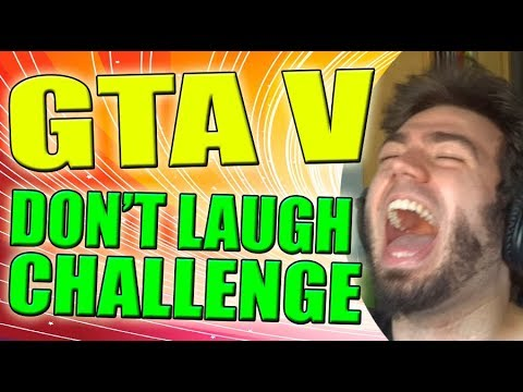 SUPER DONT LAUGH CHALLENGE! MUERTES MAS ESTUPIDAS en GTA V - WASTED