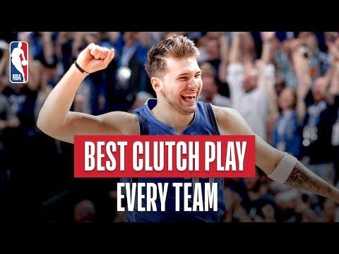 NBA's Best Clutch Play Of Every Team   2018-19 NBA Season