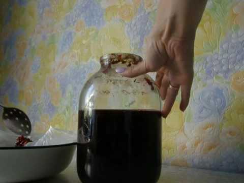 Домашнее вино из вишни/2 часть