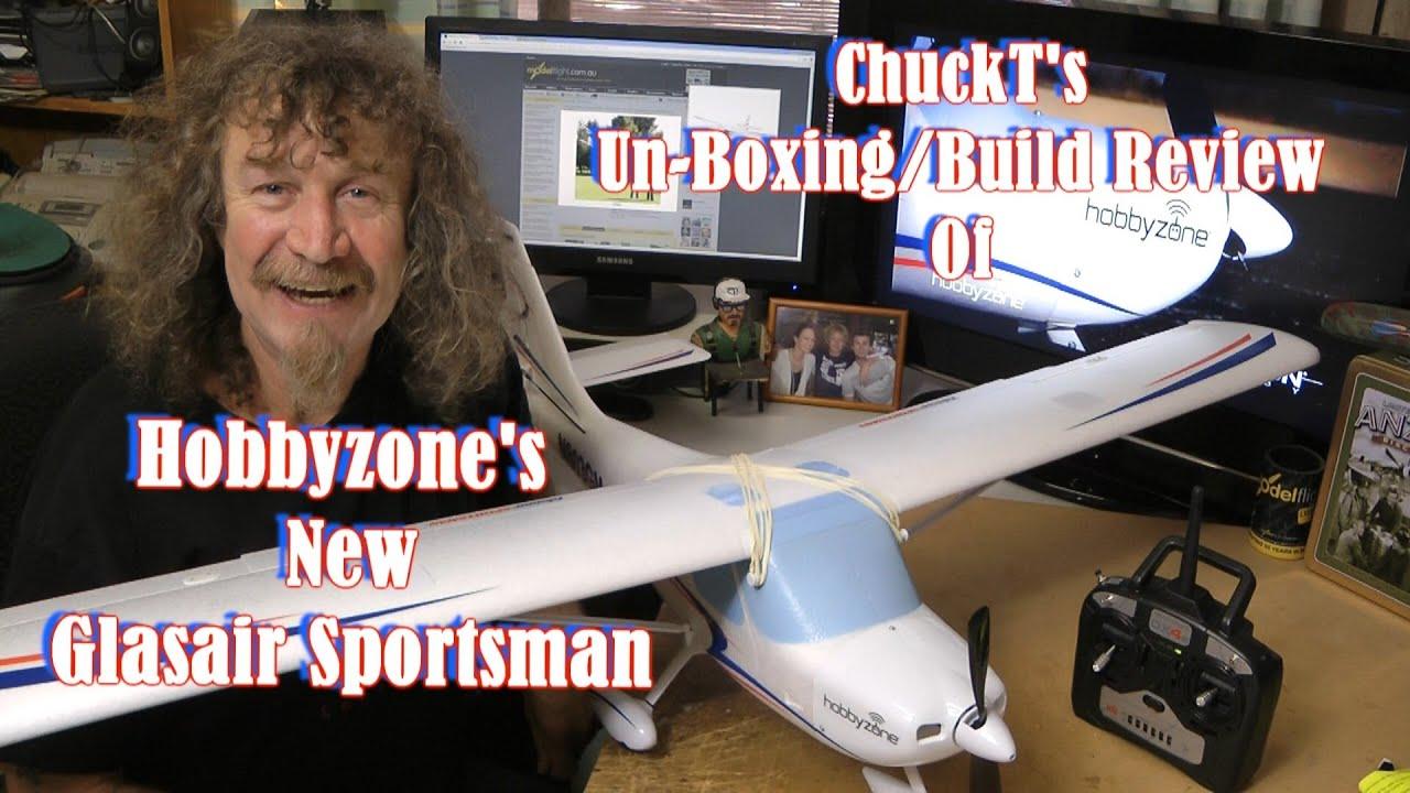 Hobbyzone Glasair Sportsman Un-Boxing Build Review