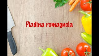 How to cook - Piadina romagnola