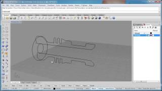Advanced Rhino 5 Tutorial   Creating Hatch Drawings