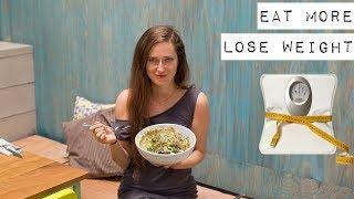 🔴 Больше есть и похудеть 💚Как есть больше, но меньше калорий и не быть голодной