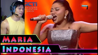 Download lagu Maria Stand Up For Love Indonesian Idol 2018 RandomPHDude Reaction
