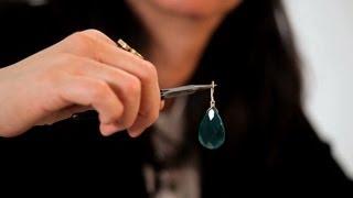 How To Make Jade Drop Earrings | Making Jewelry