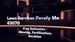 (636) 321-7002 Lawn Service  Fertilization Weed Control Pevely MO 63070