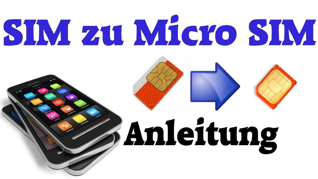 Sim Karte Iphone Zuschneiden