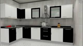 Small l shaped modular kitchen designs