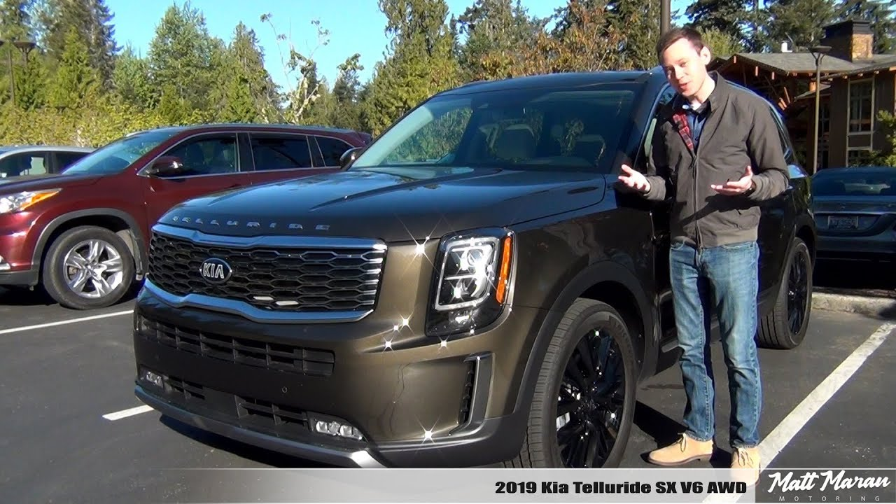 review  2020 kia telluride sx v6 awd