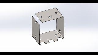 Solidworks. Деталь из листового металла (Solidworks. Sheet Metal Parts)(, 2015-02-08T13:13:36.000Z)