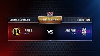 PRIES.G2A vs ARCADE Week 5 Match 4 WGL RU Season II 2015-2016. Gold Series Group Round