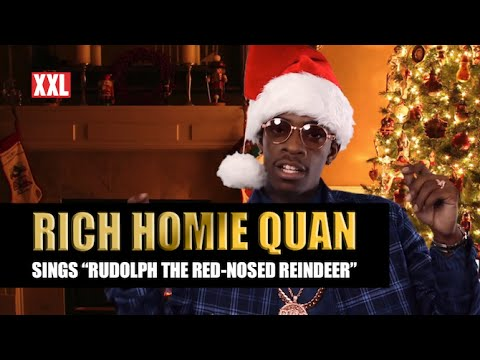 """Rich Homie Quan Sings """"Rudolph Red-Nosed Reindeer"""""""