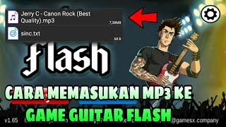 Cara Memasukan Lagu MP3 Ke Game Guitar Flash GAMPANG..!!!!! screenshot 4