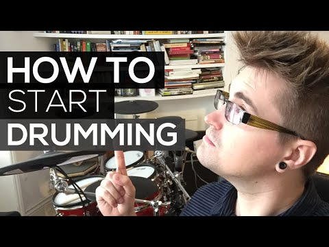 How To Start Drums
