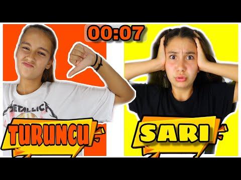 RENGİNE GÖRE SON YİYEN KAZANIR 🏆 Eğlenceli Video