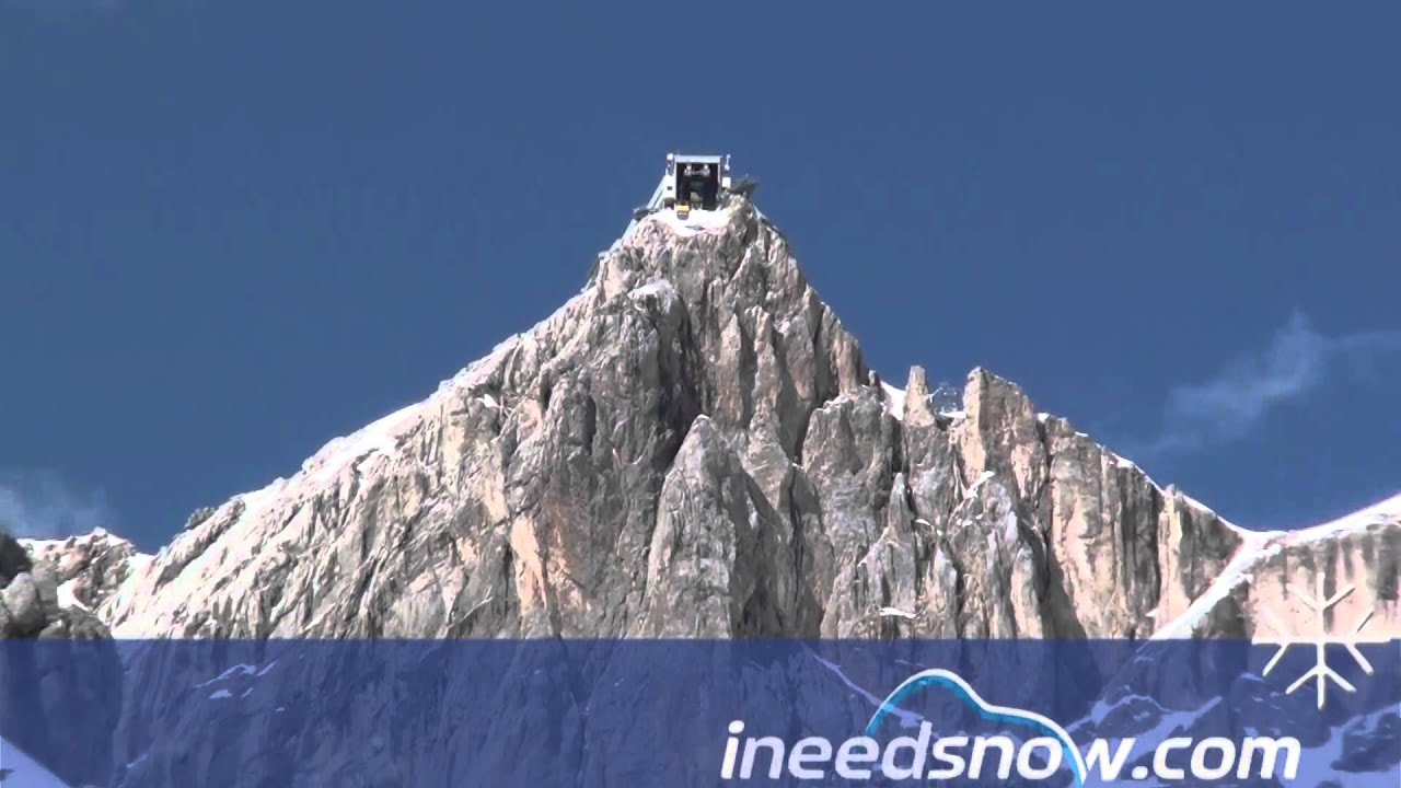 Dachstein Glacier Cable Car Youtube