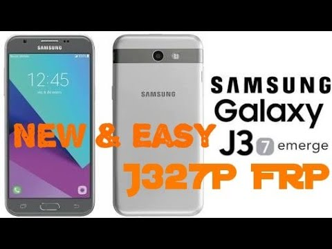 J327P FRP || New & Easy Solution || No Combination File Needed || No Box or  Dongle Needed