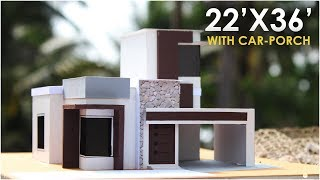 22x36  | SMALL RESIDENTIAL BUILDING |  1BHK
